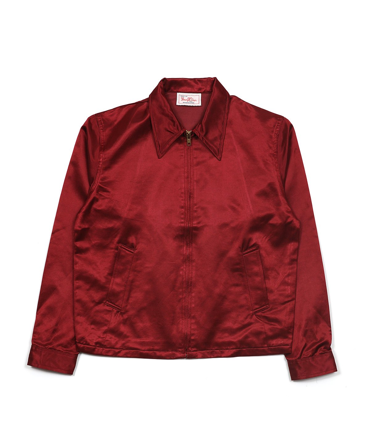 SATIN SWING JACKET