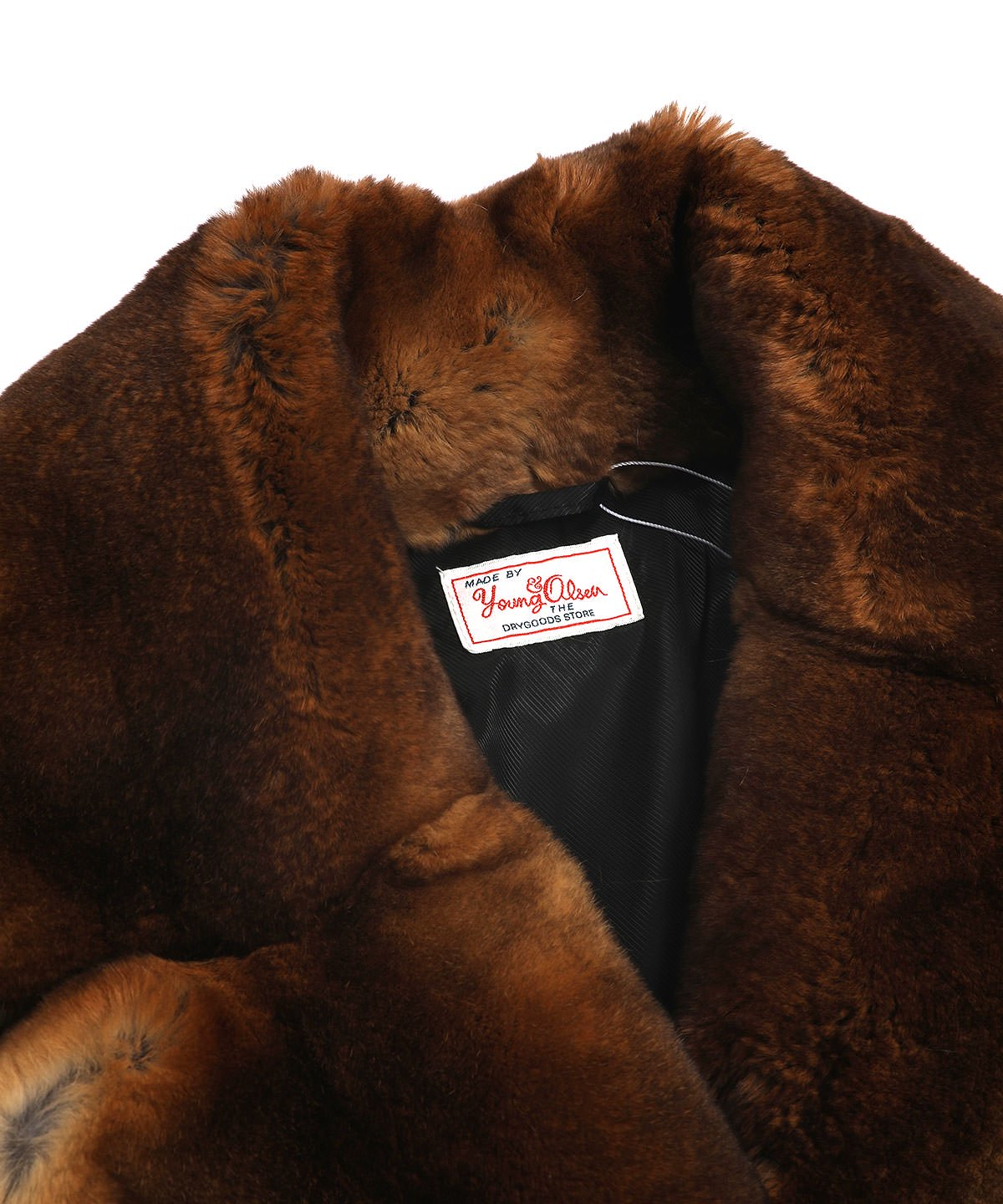 REX FUR FRENCH COAT
