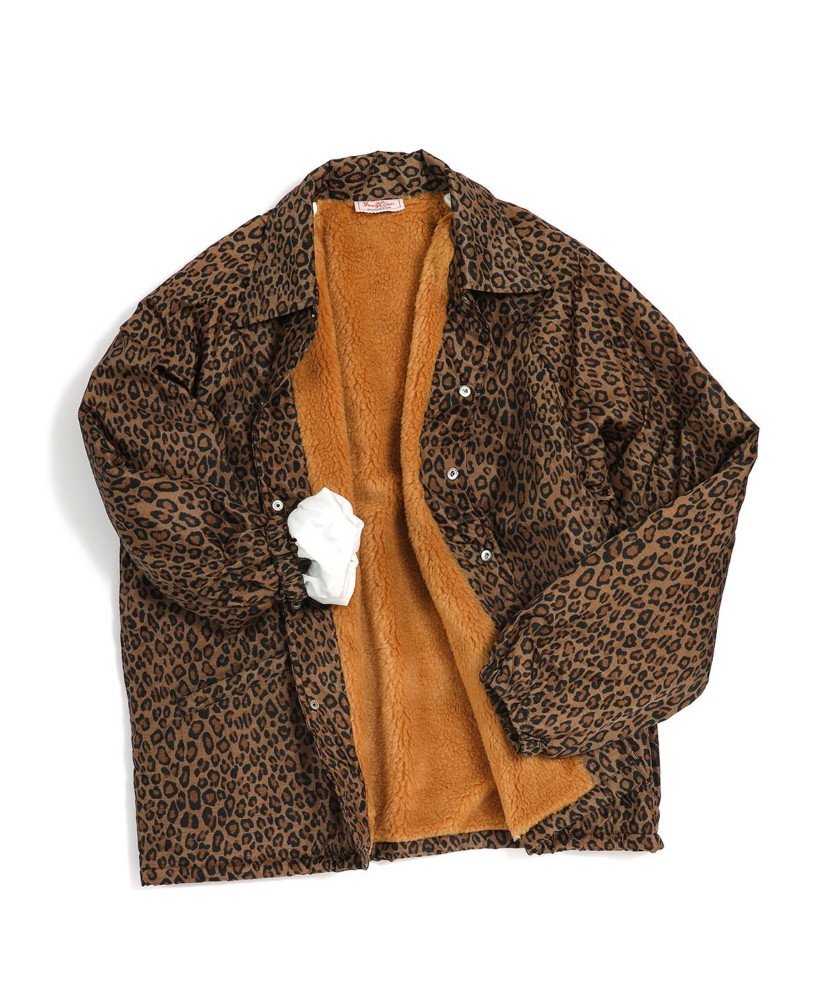 LEOPARD COACH JACKET