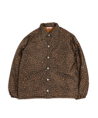 YOUNG & OLSEN LEOPARD COACH JACKET