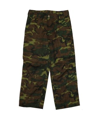 YOUNG & OLSEN CARGOLESS CAMO TROUSER