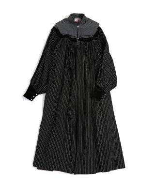 YOUNG & OLSEN SANTA FE PLEATED DRESS