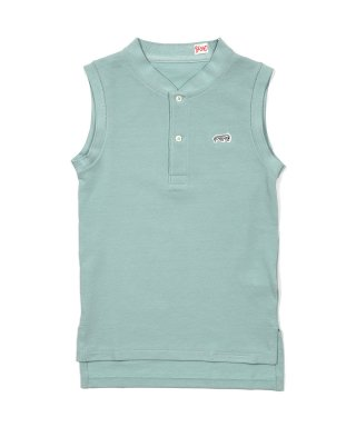 YOUNG & OLSEN FRENCH PIQUE HENLEY NS