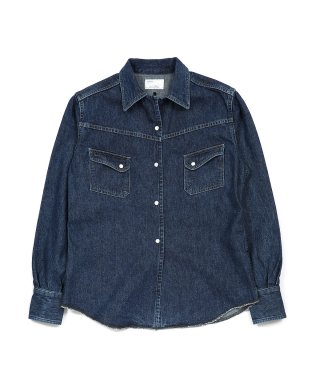 YOUNG & OLSEN OLSEN'S DENIM WESTERN SHIRT