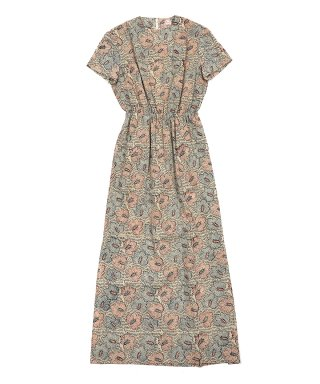 YOUNG & OLSEN MADRAS LONG DRESS