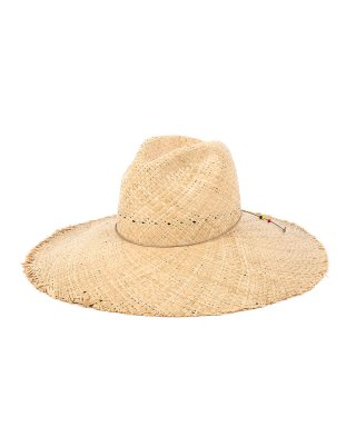 YOUNG & OLSEN WIDE BRIM RAFFIA HAT