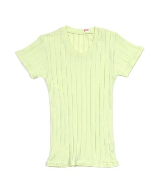 YOUNG & OLSEN BROAD RIB U-NECK