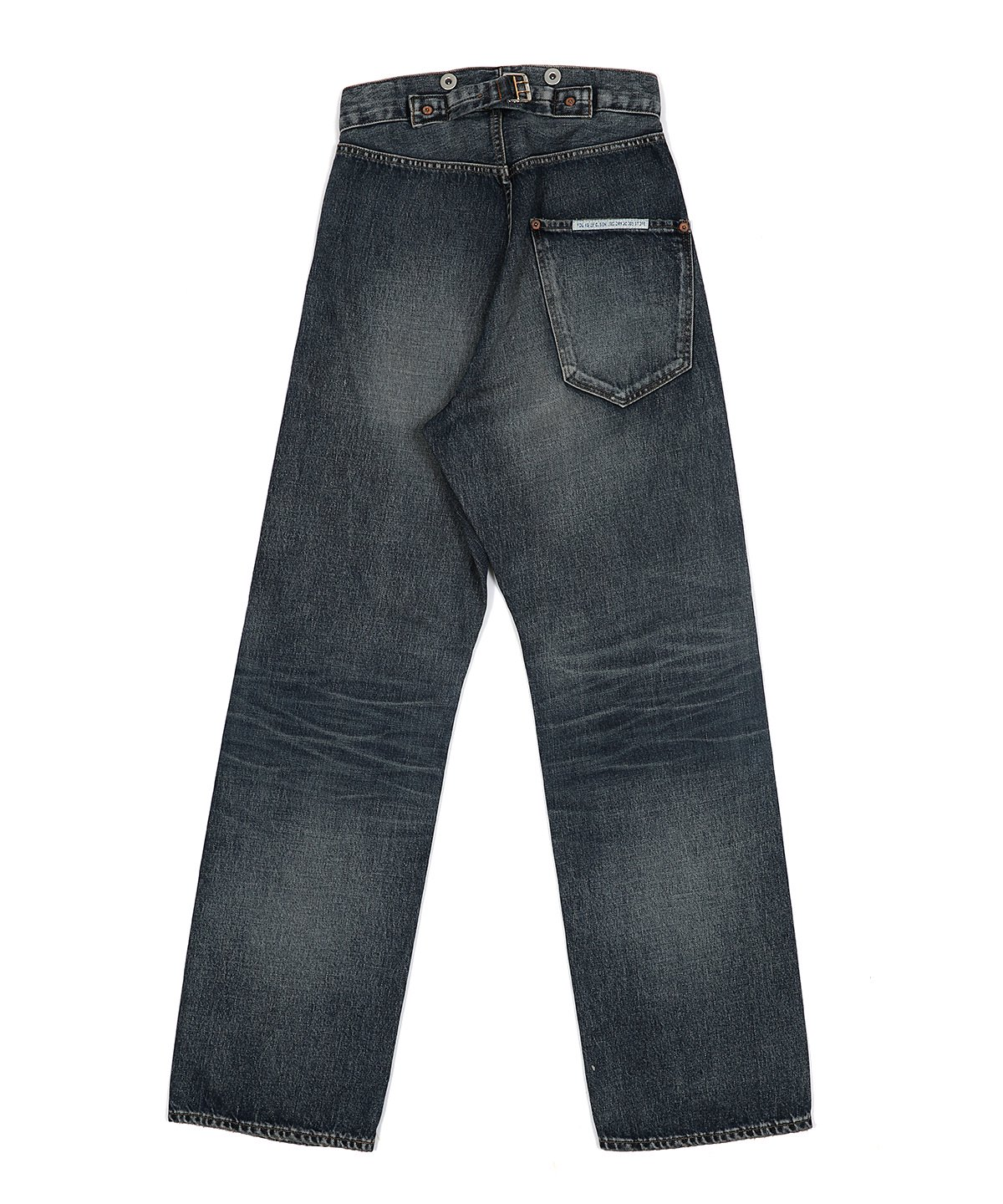 20'S WIDE JEANS (WASHED OUT)