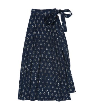YOUNG & OLSEN INDIAN WRAP SKIRT