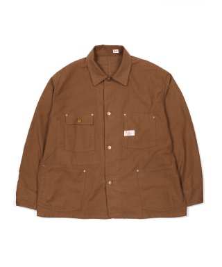 YOUNG & OLSEN C/W FLANNEL WORK JACKET