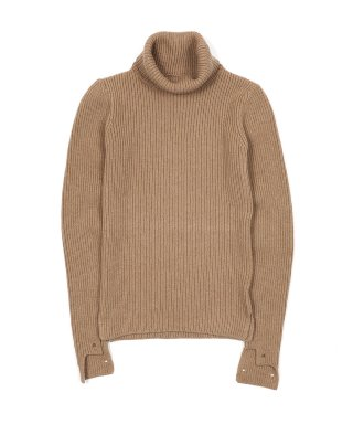 YOUNG & OLSEN HAND WARMER TURTLE SWEATER