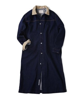 YOUNG & OLSEN LONG AMERICAN COAT (ONE WASH)