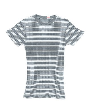 YOUNG & OLSEN BROAD RIB CREW NECK