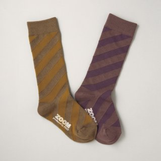 K-067 Diagonal Socks (22.5-24.5)