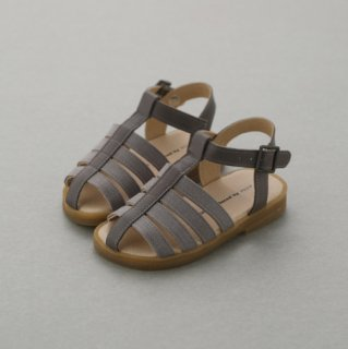 1743 Linen Leather Sandal (15-18)