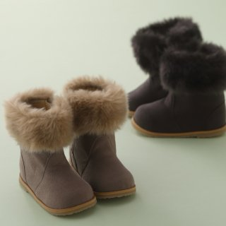 1761 Baby Fur Boots
