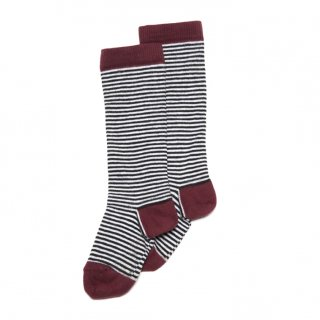 <img class='new_mark_img1' src='//img.shop-pro.jp/img/new/icons20.gif' style='border:none;display:inline;margin:0px;padding:0px;width:auto;' />30%OFF MINGO. Knee socks Striped/Red wine