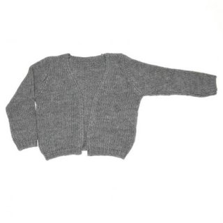 <img class='new_mark_img1' src='//img.shop-pro.jp/img/new/icons20.gif' style='border:none;display:inline;margin:0px;padding:0px;width:auto;' />35%OFF 18AW MINGO. Cardigan Grey