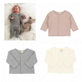 <img class='new_mark_img1' src='//img.shop-pro.jp/img/new/icons14.gif' style='border:none;display:inline;margin:0px;padding:0px;width:auto;' />Gray Label Baby Cardigan