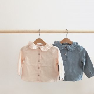 <img class='new_mark_img1' src='//img.shop-pro.jp/img/new/icons20.gif' style='border:none;display:inline;margin:0px;padding:0px;width:auto;' />40%OFF round collar tops(pink,blue)