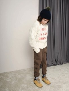 <img class='new_mark_img1' src='//img.shop-pro.jp/img/new/icons20.gif' style='border:none;display:inline;margin:0px;padding:0px;width:auto;' />30%OFF 17aw TAO Uniform SCULPTOR KIDS PANTS BROWN