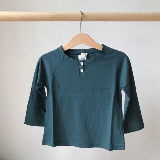 17aw Le Petit Germain FLOO Tee shirt / Smocked Green