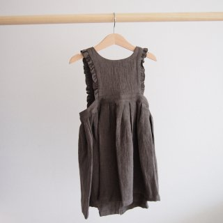 <img class='new_mark_img1' src='//img.shop-pro.jp/img/new/icons14.gif' style='border:none;display:inline;margin:0px;padding:0px;width:auto;' />himher apron dress / dark brown