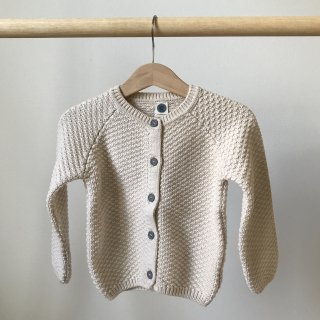 17aw Le Petit Germain ARMEL Cardigan / Hot Milk