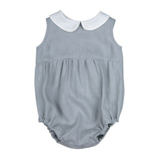 <img class='new_mark_img1' src='//img.shop-pro.jp/img/new/icons14.gif' style='border:none;display:inline;margin:0px;padding:0px;width:auto;' />18ss Bebe Organic LOVE ROMPER / Grey