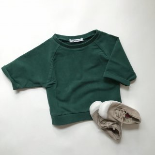 <img class='new_mark_img1' src='//img.shop-pro.jp/img/new/icons14.gif' style='border:none;display:inline;margin:0px;padding:0px;width:auto;' />18SS MINGO. Cropped sweater Rain forest green