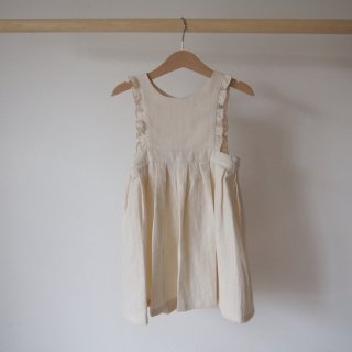 <img class='new_mark_img1' src='//img.shop-pro.jp/img/new/icons14.gif' style='border:none;display:inline;margin:0px;padding:0px;width:auto;' />himher apron dress / cream