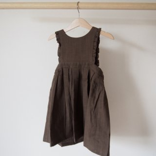 <img class='new_mark_img1' src='//img.shop-pro.jp/img/new/icons20.gif' style='border:none;display:inline;margin:0px;padding:0px;width:auto;' />20%OFF himher apron dress / brown