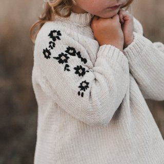<img class='new_mark_img1' src='//img.shop-pro.jp/img/new/icons14.gif' style='border:none;display:inline;margin:0px;padding:0px;width:auto;' />18AW Rylee & Cru embroidered chenille sweater ivory