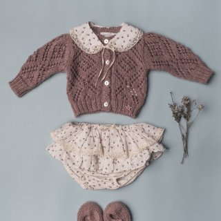 <img class='new_mark_img1' src='//img.shop-pro.jp/img/new/icons14.gif' style='border:none;display:inline;margin:0px;padding:0px;width:auto;' />18AW tocoto vintage GIRL KNITTED JACKET / pink