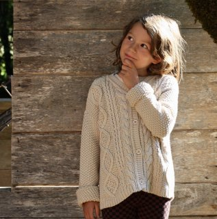 <img class='new_mark_img1' src='//img.shop-pro.jp/img/new/icons14.gif' style='border:none;display:inline;margin:0px;padding:0px;width:auto;' />18AW Le Petit Germain MILOU Cardigan(HOT MILK)