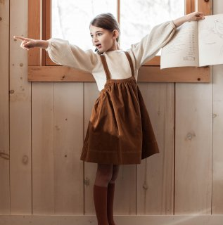 <img class='new_mark_img1' src='//img.shop-pro.jp/img/new/icons14.gif' style='border:none;display:inline;margin:0px;padding:0px;width:auto;' />18AW SOOR PLOOM Eloise Pinafore / BARLEY CORDUROY