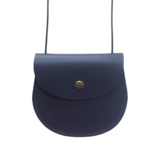 <img class='new_mark_img1' src='//img.shop-pro.jp/img/new/icons14.gif' style='border:none;display:inline;margin:0px;padding:0px;width:auto;' />18AW Little Cotton Clothes Leather Saddle Purse / Charcoal