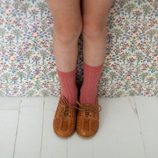 <img class='new_mark_img1' src='https://img.shop-pro.jp/img/new/icons14.gif' style='border:none;display:inline;margin:0px;padding:0px;width:auto;' />CONDOR ribbed short socks terracotta