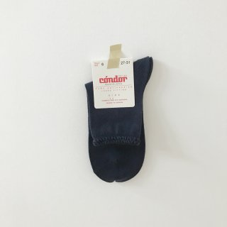 <img class='new_mark_img1' src='//img.shop-pro.jp/img/new/icons14.gif' style='border:none;display:inline;margin:0px;padding:0px;width:auto;' />CONDOR pattern cuff short socks navy