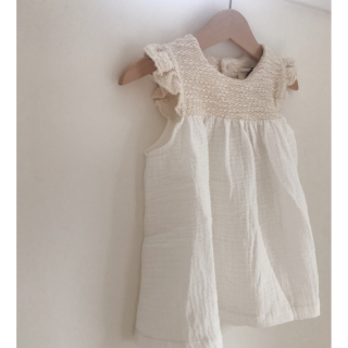 <img class='new_mark_img1' src='https://img.shop-pro.jp/img/new/icons14.gif' style='border:none;display:inline;margin:0px;padding:0px;width:auto;' />19SS 1+ in the family Tomita dress / natural