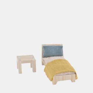 <img class='new_mark_img1' src='https://img.shop-pro.jp/img/new/icons14.gif' style='border:none;display:inline;margin:0px;padding:0px;width:auto;' />Olli Ella Holdie Single Bed Set