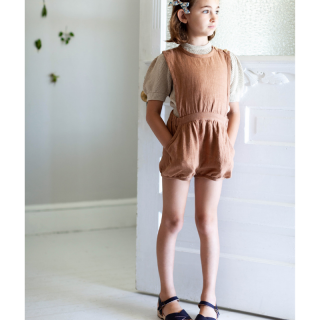 <img class='new_mark_img1' src='//img.shop-pro.jp/img/new/icons14.gif' style='border:none;display:inline;margin:0px;padding:0px;width:auto;' />19SS SOOR PLOOM Fernanda Playsuit / Moth Linen