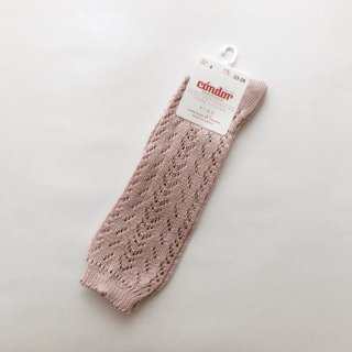 <img class='new_mark_img1' src='https://img.shop-pro.jp/img/new/icons14.gif' style='border:none;display:inline;margin:0px;padding:0px;width:auto;' />CONDOR openwork knee-high socks vintage rose