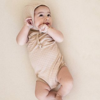 <img class='new_mark_img1' src='//img.shop-pro.jp/img/new/icons14.gif' style='border:none;display:inline;margin:0px;padding:0px;width:auto;' />19SS Quincy Mae Pointelle Tank Onesie / Rose