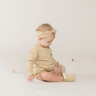 <img class='new_mark_img1' src='//img.shop-pro.jp/img/new/icons14.gif' style='border:none;display:inline;margin:0px;padding:0px;width:auto;' />19SS Quincy Mae Baby Turban / Honey