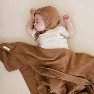 <img class='new_mark_img1' src='//img.shop-pro.jp/img/new/icons14.gif' style='border:none;display:inline;margin:0px;padding:0px;width:auto;' />19SS Quincy Mae Pointelle Baby Blankets / Copper
