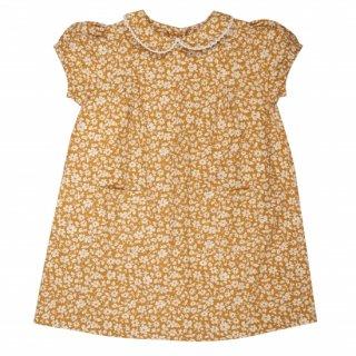 <img class='new_mark_img1' src='https://img.shop-pro.jp/img/new/icons20.gif' style='border:none;display:inline;margin:0px;padding:0px;width:auto;' />15%OFF 19SS Capsule Little Cotton Clothes Mimi Dress Mustard Floral