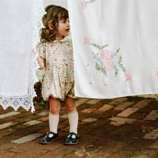 <img class='new_mark_img1' src='//img.shop-pro.jp/img/new/icons14.gif' style='border:none;display:inline;margin:0px;padding:0px;width:auto;' />19SS Capsule Little Cotton Clothes Esme Romper Yellow Floral