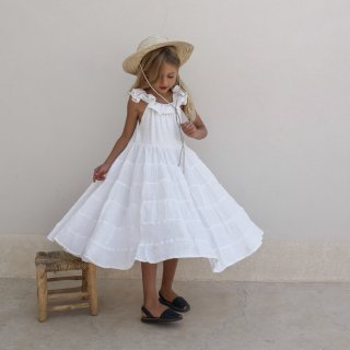 <img class='new_mark_img1' src='https://img.shop-pro.jp/img/new/icons14.gif' style='border:none;display:inline;margin:0px;padding:0px;width:auto;' />Yoli&Otis LAUNA DRESS | WHITE