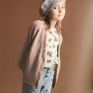 <img class='new_mark_img1' src='https://img.shop-pro.jp/img/new/icons14.gif' style='border:none;display:inline;margin:0px;padding:0px;width:auto;' />19AW tocoto vintage<BR>Knitted cardigan with lace flap / pink